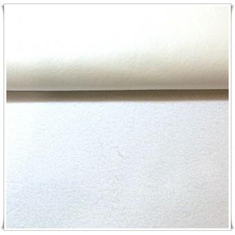 Rizo plastificado blanco