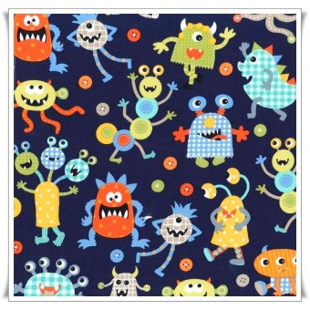 Fat quarter monster mash