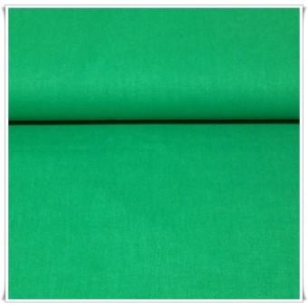 Tela algodon verde botella