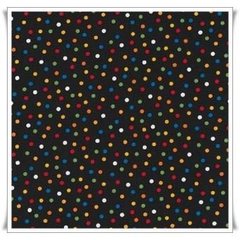 Retal tela topos multicolores 45 cms