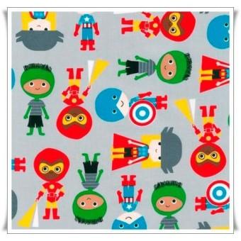 Retal superboys gris 18 cms