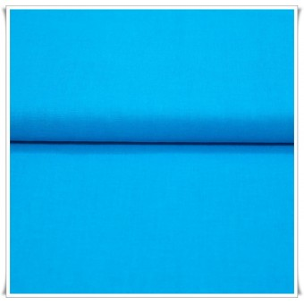 Tela algodon azul turquesa