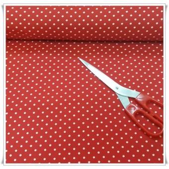 Retal pique topos rojo 80x155 cms
