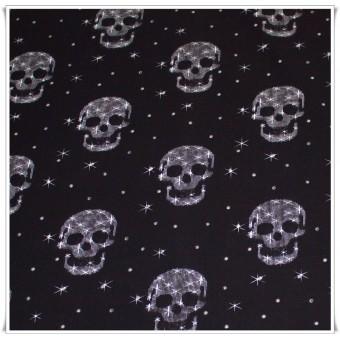 Tela Calaveras estrelladas