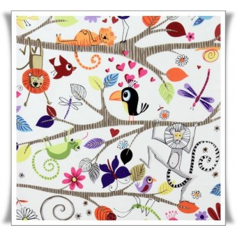 Fat quarter tela siesta animal