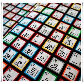 Tela tabla periodica