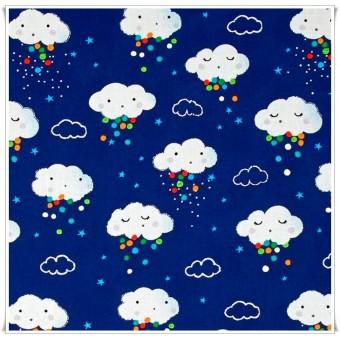 Tela Nubes Confetti