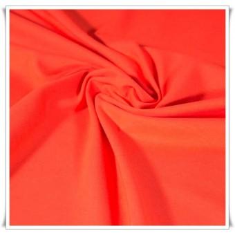 Tela de punto jersey algodon Naranja