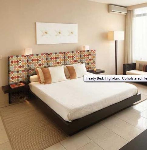 Decorando el cabecero de la cama con telas - Cabeceros de cama tapizados tela ...