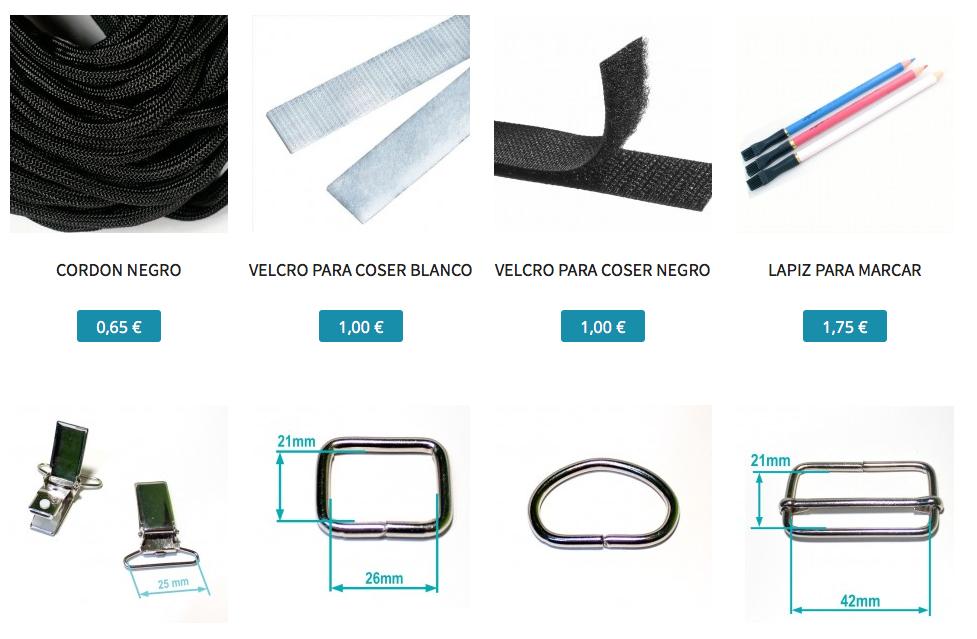 Seccion accesorios de costura