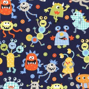 Telas-infantiles-online-monstruos