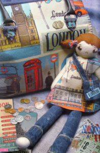 bolso fieltro london