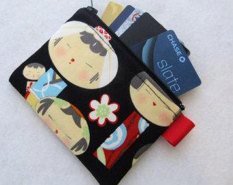 Comprar tela yui kokeshi - carterita