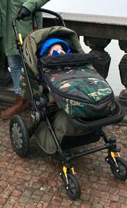 Saco camuflage