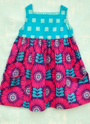 Tela para vestido flores