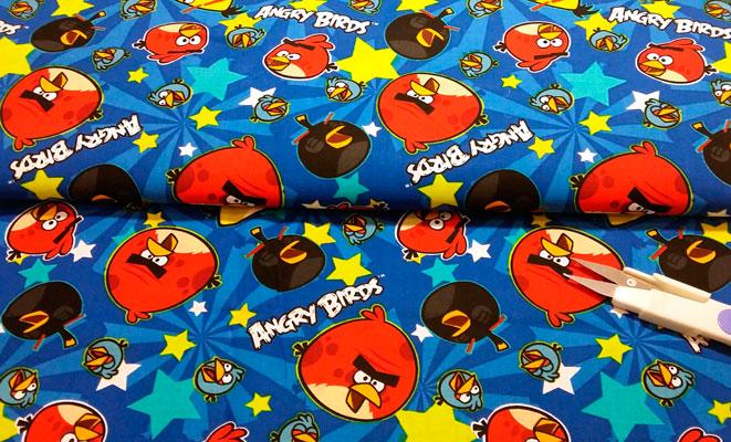 Tela Angry Birds