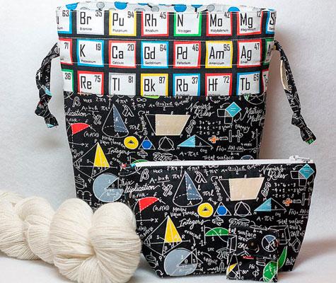 Neceser tela tabla periodica