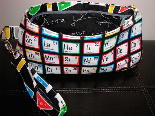 Tela tabla periodica neceser