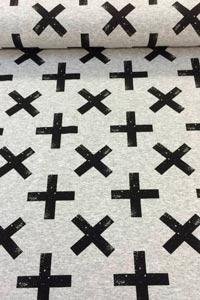 Detalle tela de punto cruces