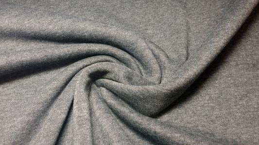 Detalle sudadera gris oscuro