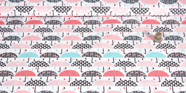 Detalle tela paraguas