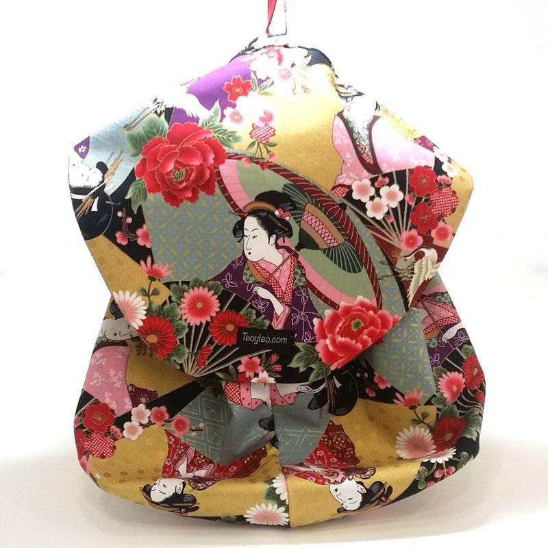 Bolsa de viaje tela geisha