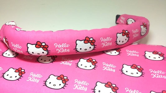 Funda tela hello kitty