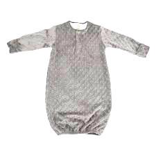 Pijama minkee gris claro