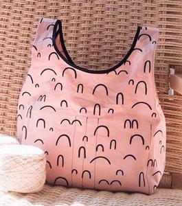 Bolso sonrisas rosa