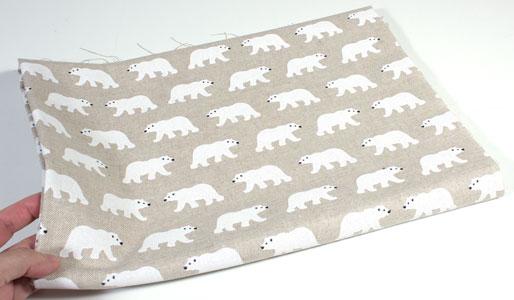 Detalle loneta osos polares