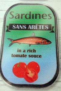 Detalle tela sardinas