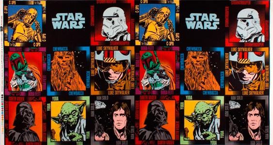 Tela star wars paneles