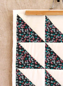 manta patchwork mini cruces