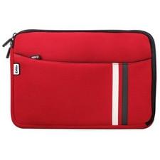 Funda tablet con tela de neopreno rojo