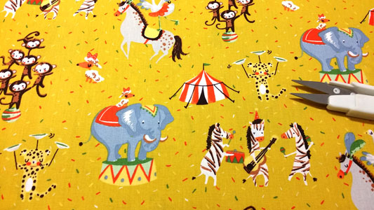 Tela infantil circo