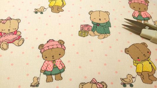 Tela osos infantil