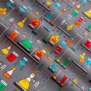 Tela tubos de ensayo patchwork americano
