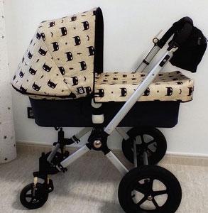 Tela batman para carrito bebe