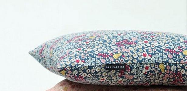 Funda almohada mini flores