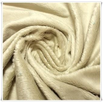 Minky blanco beige