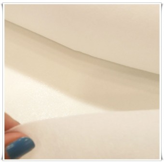Entretela adhesiva rigida - blanco