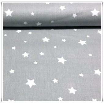 Retal tela estrellas 37 x 70 cms