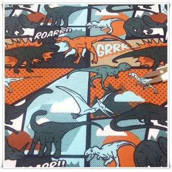 Jersey dinosaurios comic