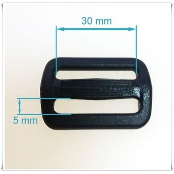 Hebilla plastico 3 cms