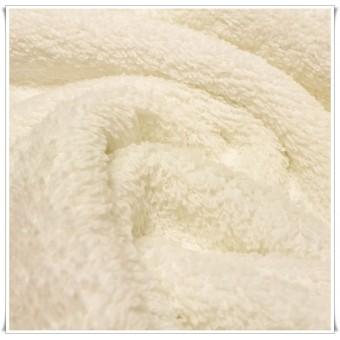 Tela de toalla blanco roto