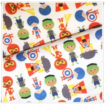 Retal loneta superheroes 30 cms