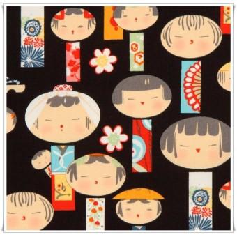 Retal tela Japoneses 35x60 cms