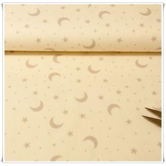 Retal tela pique lunas 75 cms