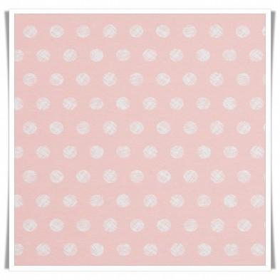 Retal loneta algodones rosa - 100cms