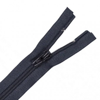 Cremallera nylon 80cms negra